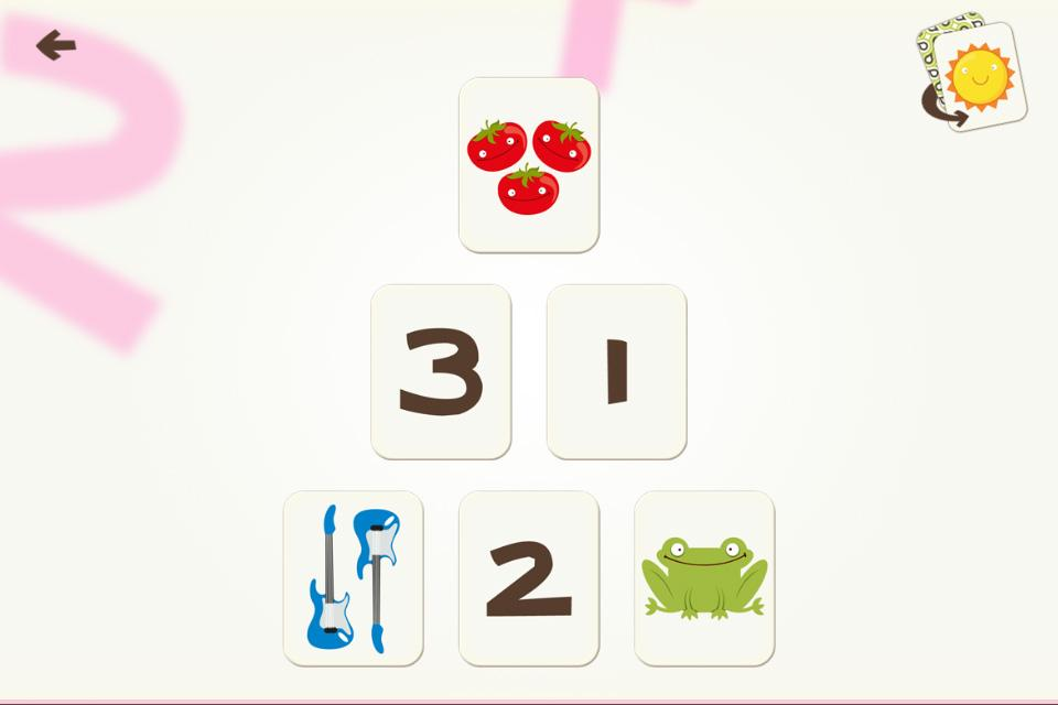 Number Games Match Fun Educational Games for Kids- screenshot