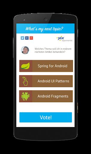 JavaMagazin voteMYnext