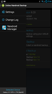 Online Nandroid Backup * ROOT - screenshot thumbnail