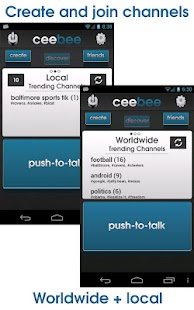 CeeBee - Walkie Talkie FREE- screenshot thumbnail