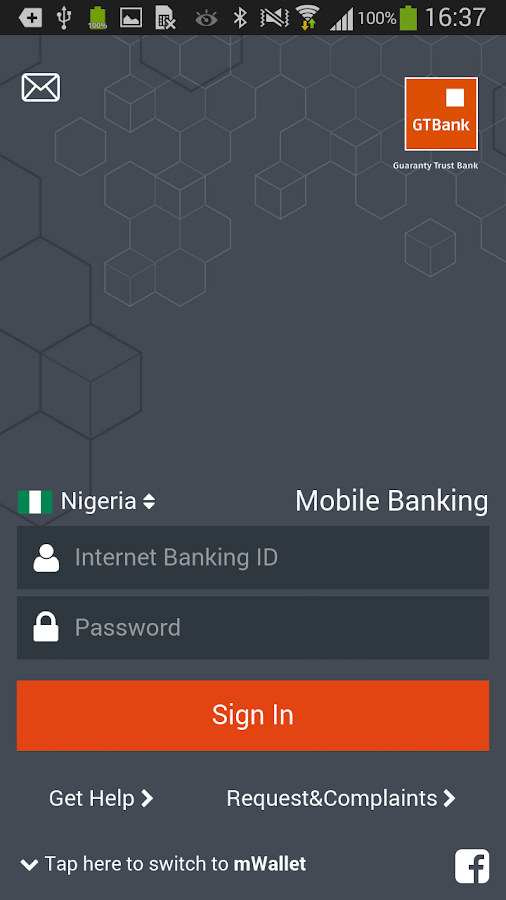 GTBank - screenshot