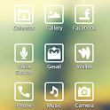 Whitebox theme for LGHome icon