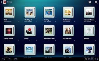 Screenshot of MotoCast for Tablets
