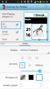 Canvas for Pebble - screenshot thumbnail