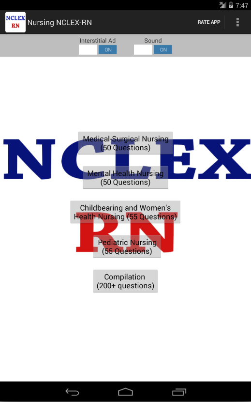 Nursing NCLEX-RN reviewer- screenshot