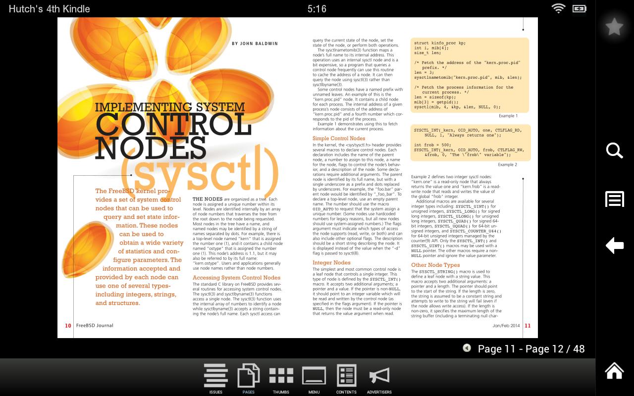 FreeBSD Journal - screenshot