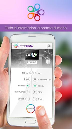 eVeryride Car sharing easyride