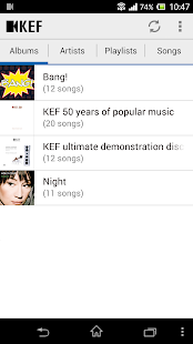 KEF Digital Media Control- screenshot thumbnail
