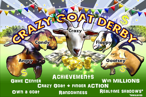 Crazy Goat Derby: Goat Racing