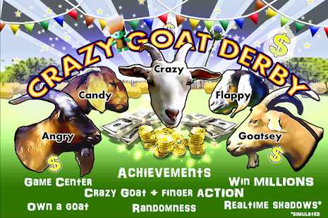 Crazy Goat Derby: Goat Racing- screenshot thumbnail