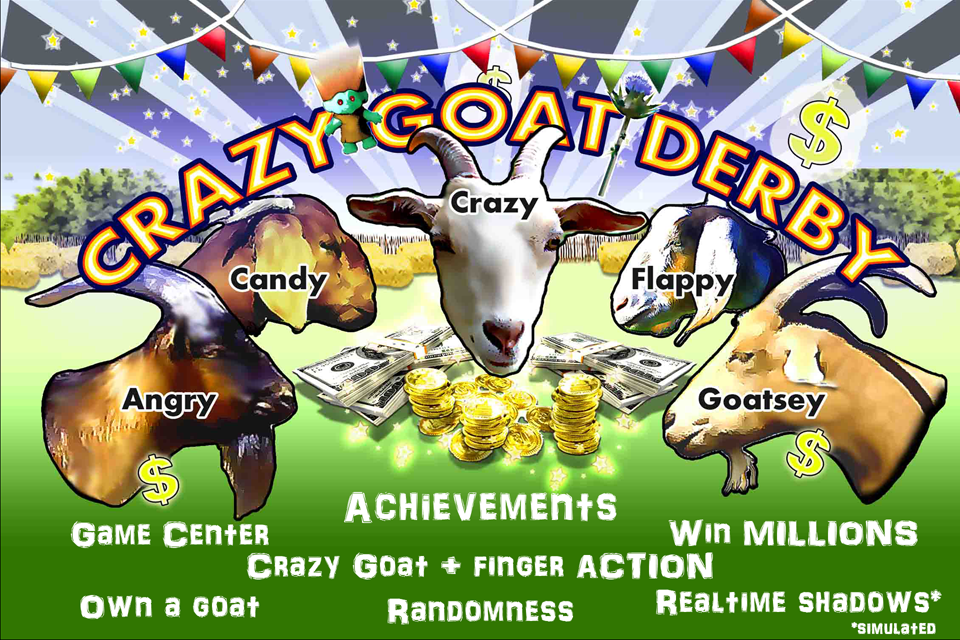 Crazy Goat Derby: Goat Racing- screenshot