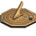 Qibla Compass Sundial Lite logo