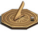 Qibla Compass Sundial Lite