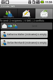 Circular SMS - screenshot thumbnail