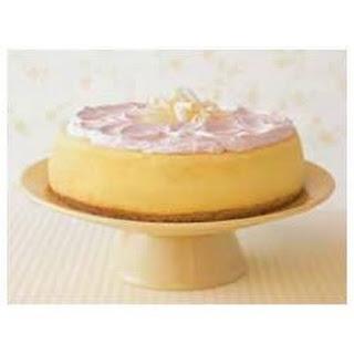 Lemon Pudding Cheesecake.