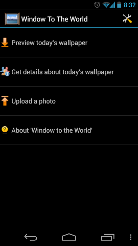 Screenshots for Window To The World