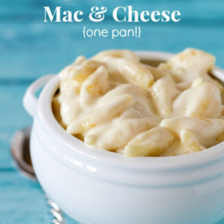 Copycat Panera Mac and Cheese (one pan!)