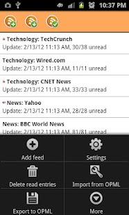 RSS News Reader