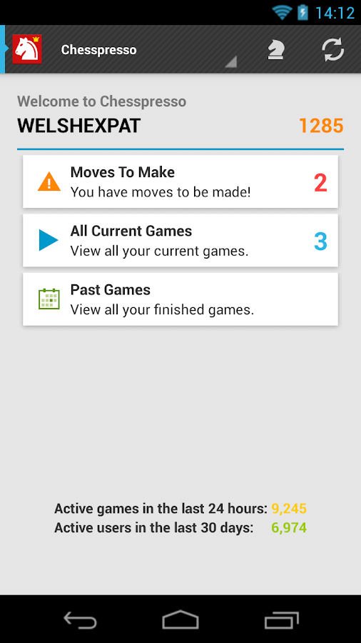 Chess-presso Multiplayer Chess- screenshot