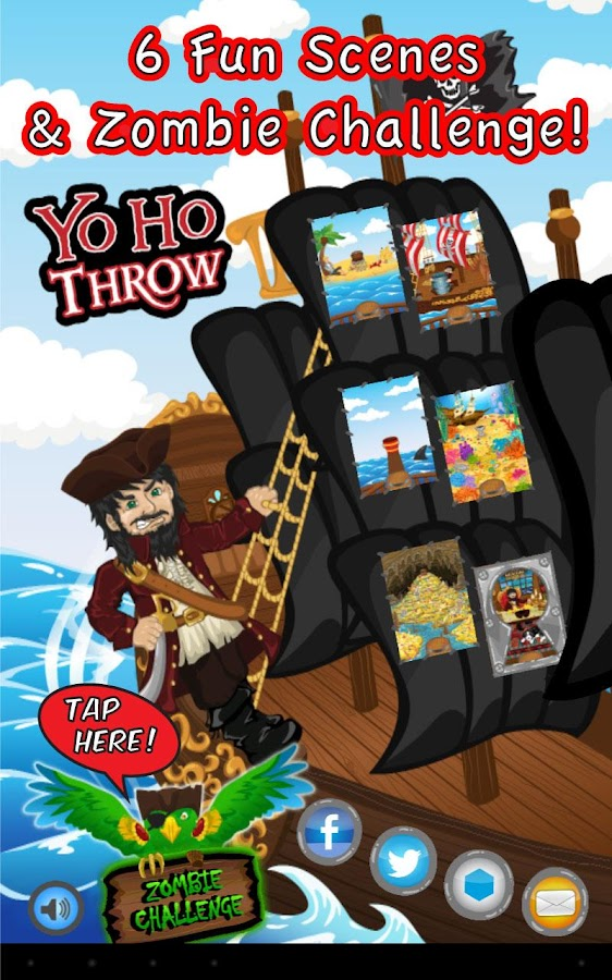 Yo Ho Throw- screenshot