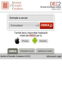 DIEC2 en línia- screenshot thumbnail
