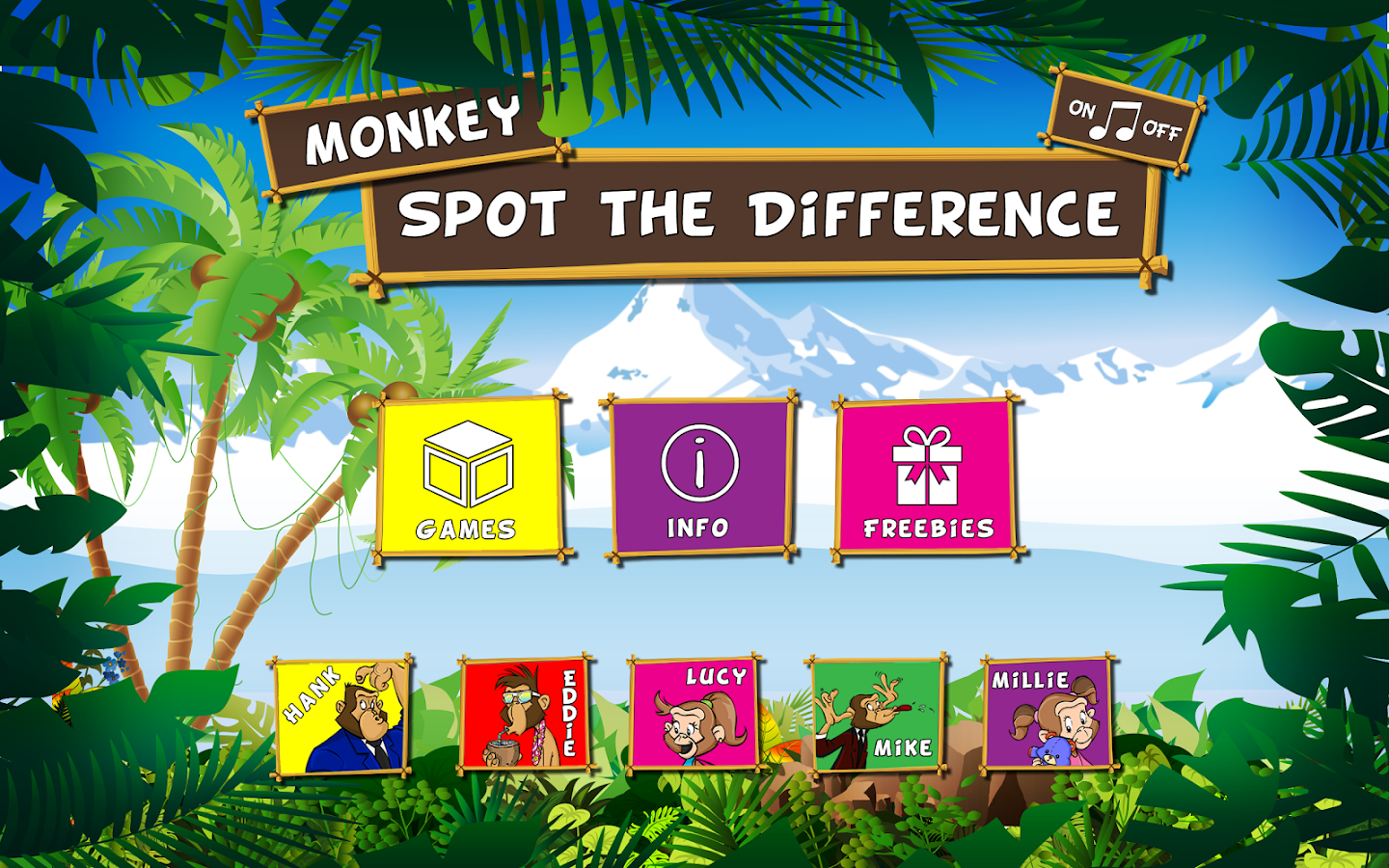 Monkey Spot the Difference- screenshot
