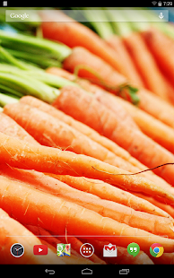 Tasty Veggies Live Wallpaper - screenshot thumbnail