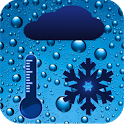 Humidity and Temperature icon