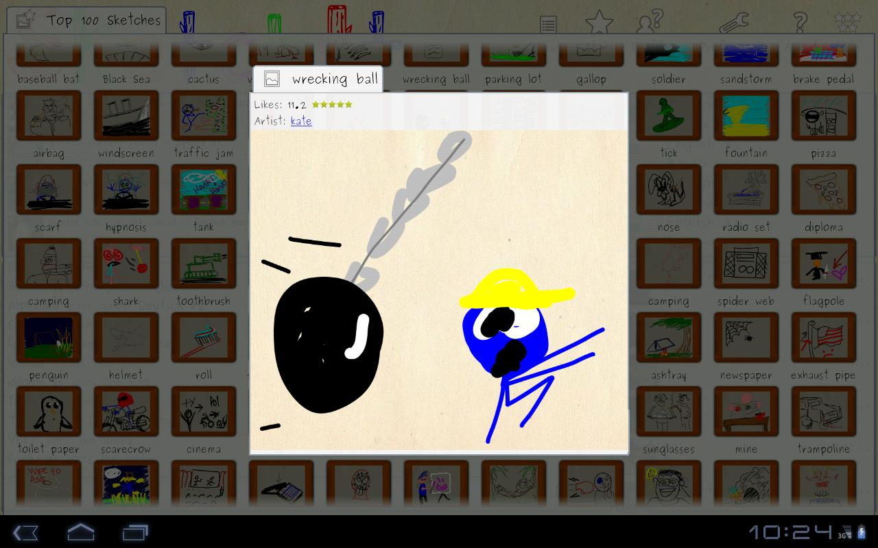Sketchit online draw guess android apps on google play for Online drawing app
