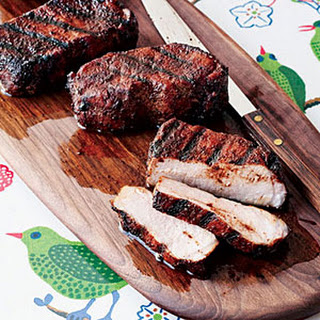 Cocoa-and-Chile-Rubbed Pork Chops