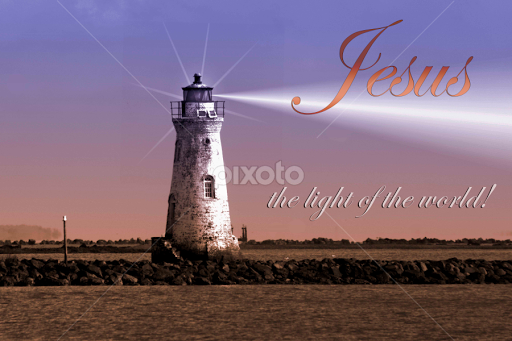 Jesus Light Of The World Quotes Sentences Typography Pixoto