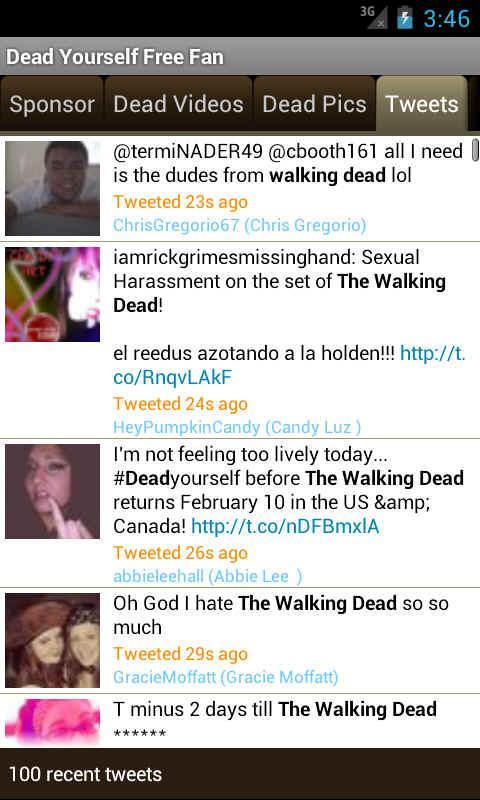 Dead Yourself Fan App - screenshot