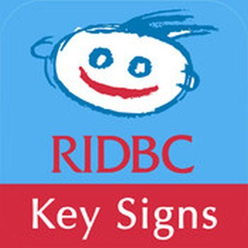 RIDBC Auslan Tutor Key Signs