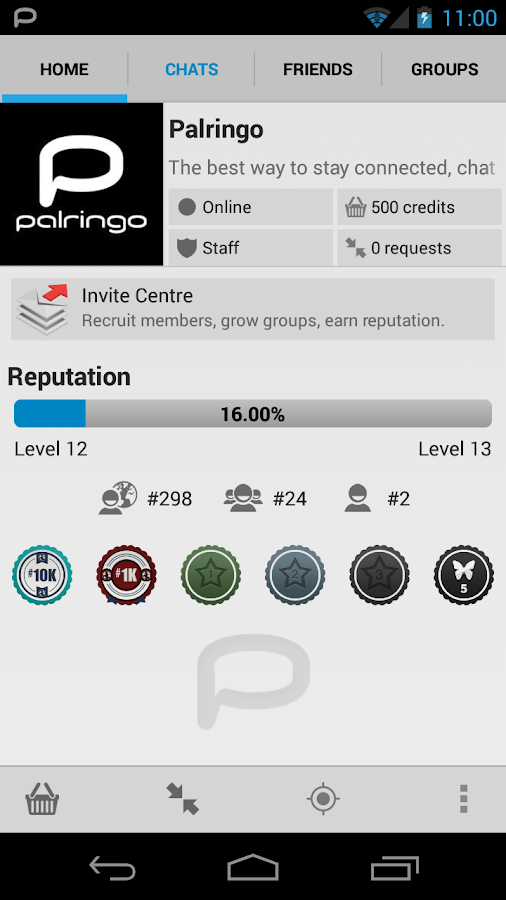 Palringo Group Messenger - screenshot