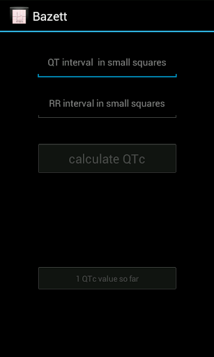 Bazett QTc Calculator