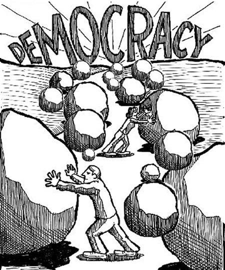 Demokrātiska valsts: Lāsts