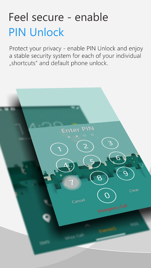 C Locker Free (Widget Locker)- screenshot