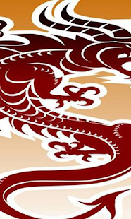 中國龍壁紙