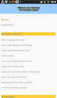 Screenshot of Hikmah & Nasihat Nikah Islami