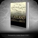 Flatland by Edwin A Abbott logo
