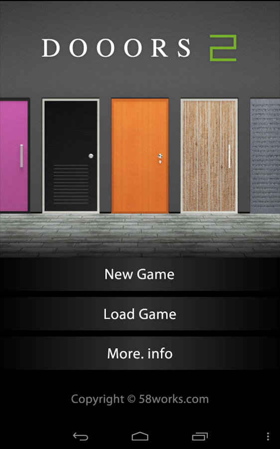 DOOORS2 - room escape game - - screenshot