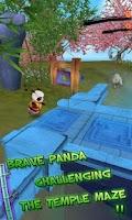 Screenshot of Panda Run