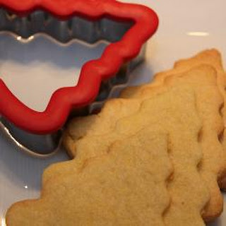 Christmas Spiced Shortbread Biscuits.