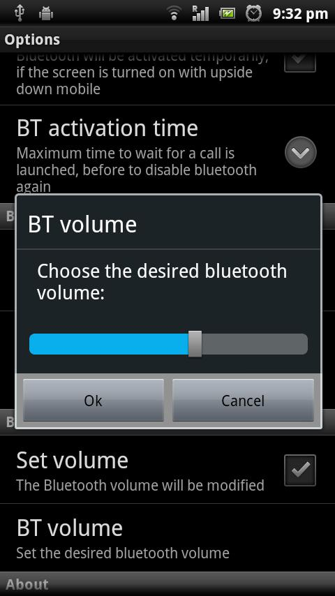 My Bluetooth Handsfree Pro - screenshot