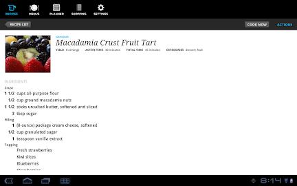 Recipe, Menu & Cooking Planner Screenshot 7