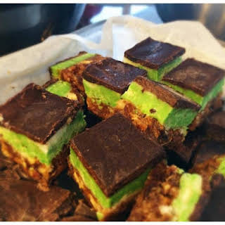 Chocolate Mint Fudge (raw, vegan, paleo, sugar-free).