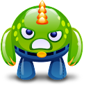 Ninja VS. Angry Monster Lite icon