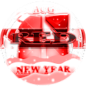 NEXT LAUNCHER 3D RED NY THEME icon