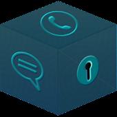 Secret Box - Dark Blue theme