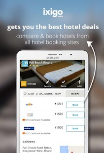 indian rail train info hotels - screenshot thumbnail